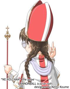 Keeko-chan the Pope