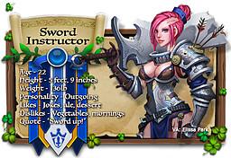 Sword Instructor