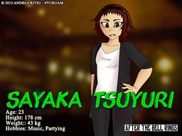 Tsuyuri Sayaka