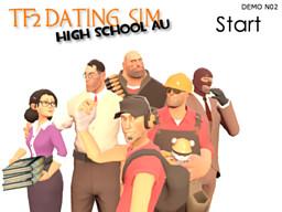 TF2 Dating Sim: High School AU