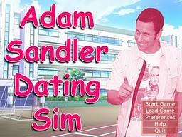 Adam Sandler Dating Sim