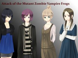 Attack of the Mutant Zombie Vampire Frogs