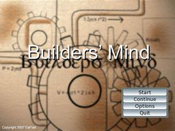 Builders' Mind