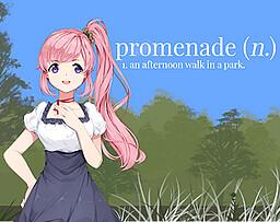 Promenade (n.) - An Afternoon Walk in a Park -