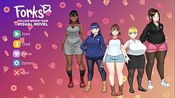 Forks: A Weight Gain Visual Novel