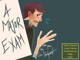 A Major Exam