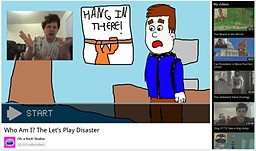 Who Am I? The Let's Play Disaster