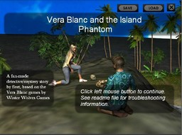 Vera Blanc and the Island Phantom