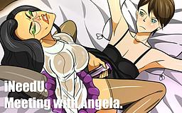 iNeedU. Meeting with Angela.