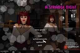 A Strange Night