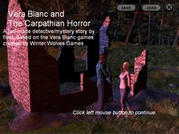 Vera Blanc and the Carpathian Horror