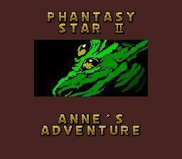 Phantasy Star II Text Adventure: Anne no Bouken