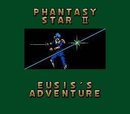 Phantasy Star II Text Adventure: Eusis no Bouken