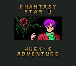 Phantasy Star II Text Adventure: Huey no Bouken