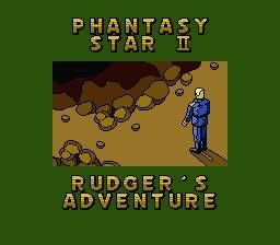 Phantasy Star II Text Adventure: Rudger no Bouken